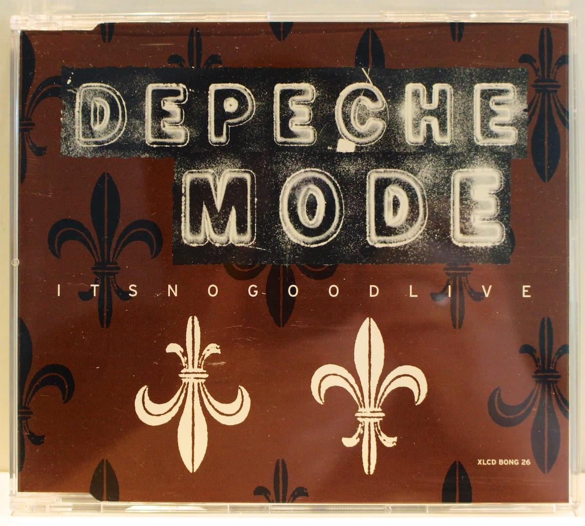 depeche mode it 39 s no good live uk promo cd mute xlcd bong 26 near mint ebay. Black Bedroom Furniture Sets. Home Design Ideas